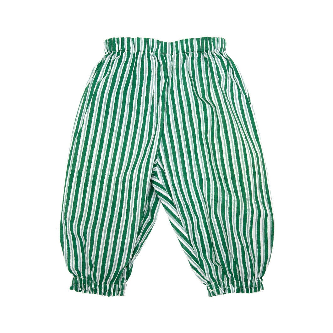 Trousers - Green Stripe