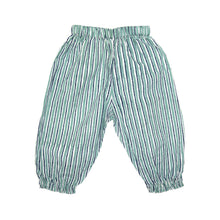 Load image into Gallery viewer, Trousers - Grey/Blue Stripe