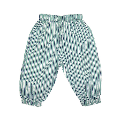 Trousers - Grey/Blue Stripe