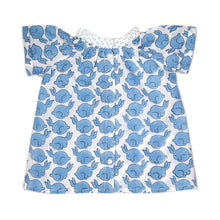 Load image into Gallery viewer, Blue Bunny Blouse