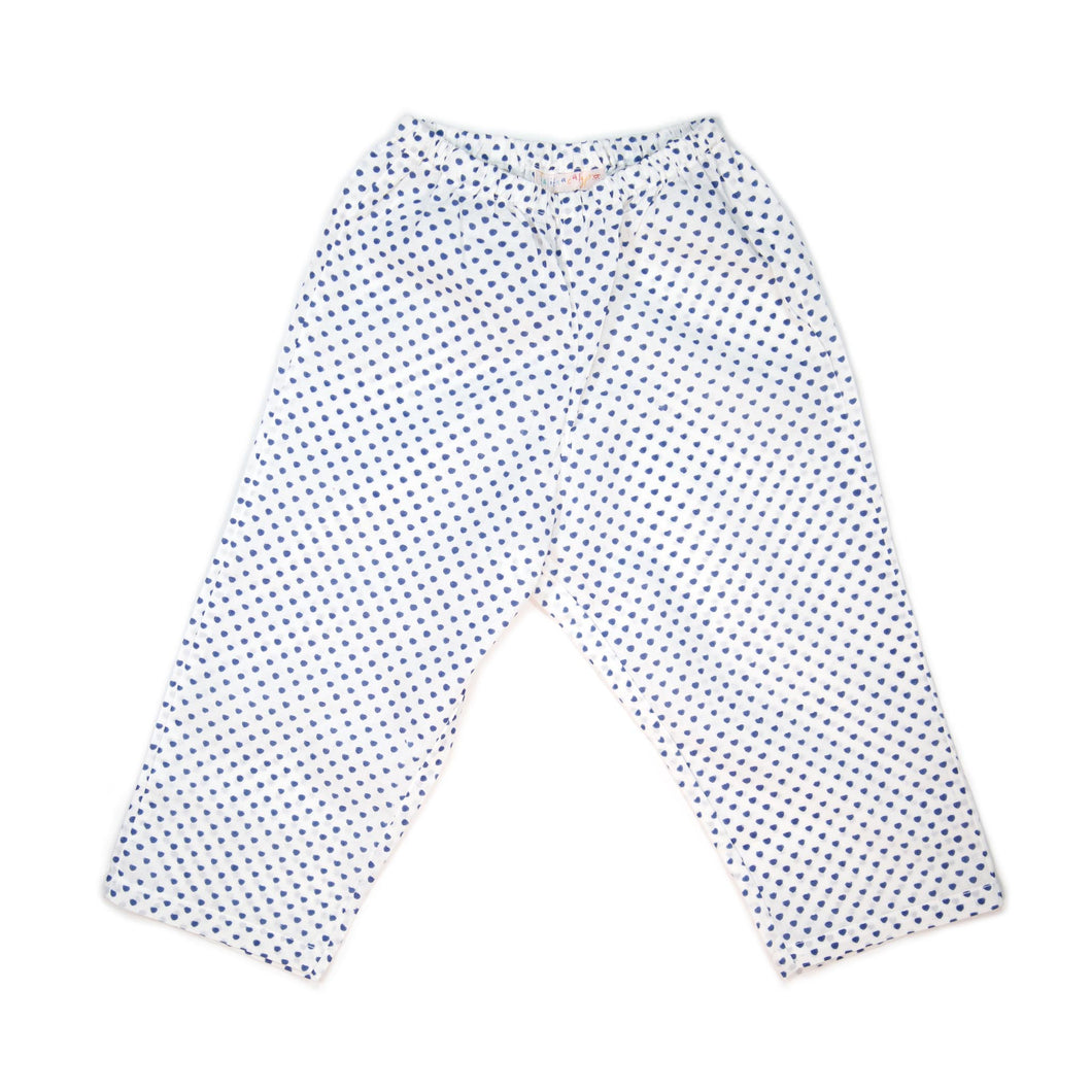 Trousers - Dark Blue Hearts