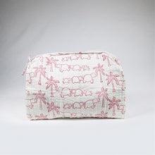 Load image into Gallery viewer, Washbag - Elephants, large