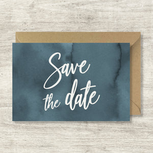 Save the date - Blue Minerals - SEVEN PAPER
