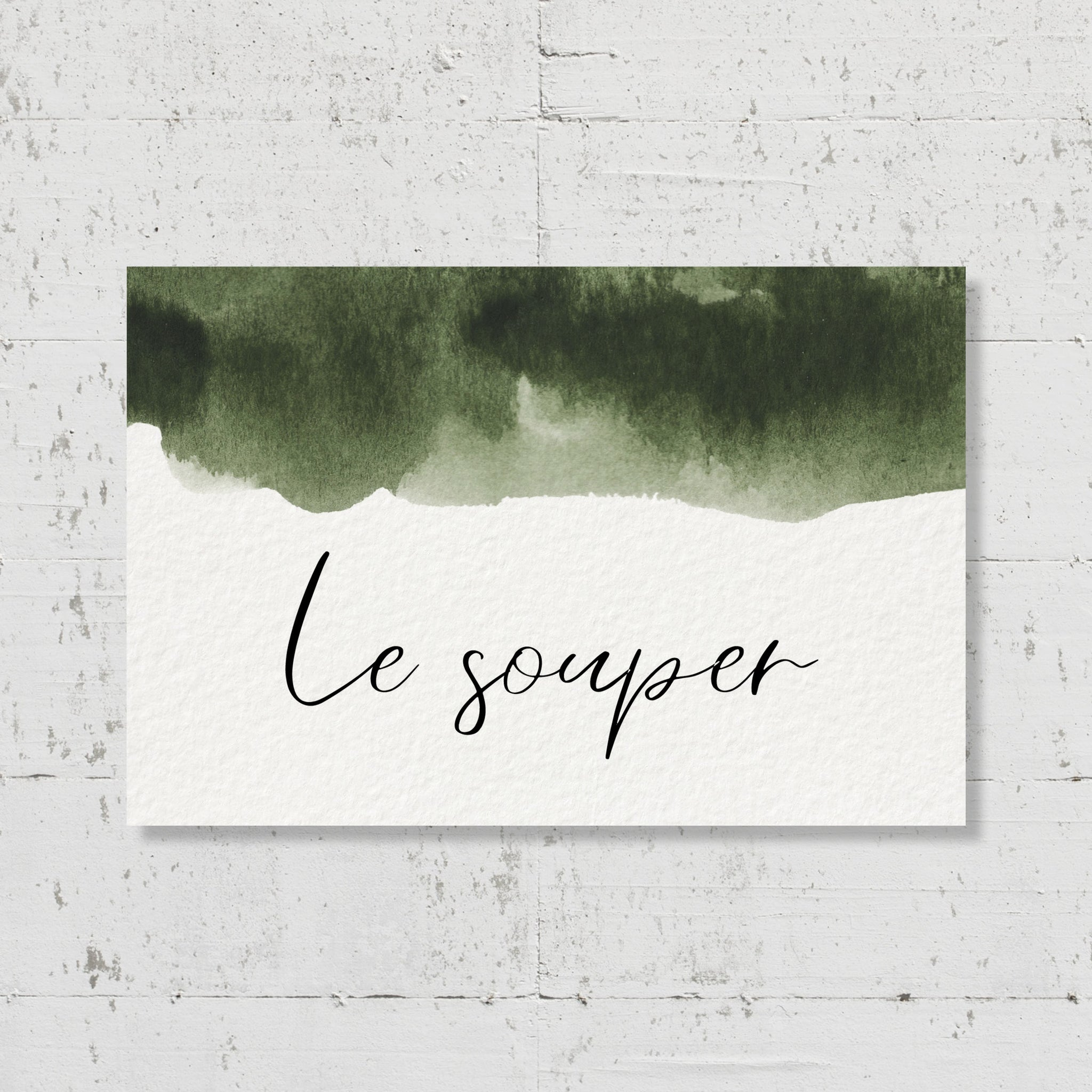 Carton supplémentaire - Olive Green - SEVEN PAPER