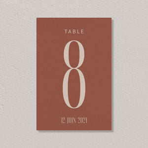 Nom de table - Morocco - SEVEN PAPER