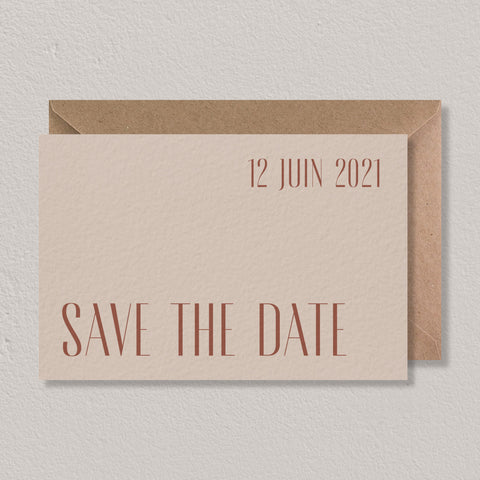 Save the date - Morocco - SEVEN PAPER