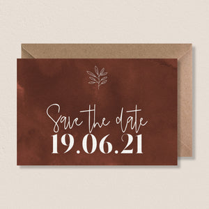 Save the date - Modern Bohemian - SEVEN PAPER