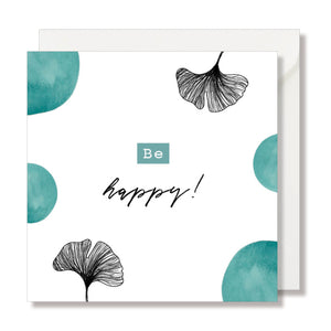 "PETITE CARTE LITCHEE ""HAPPY BIRTHDAY"" - SEVEN PAPER"