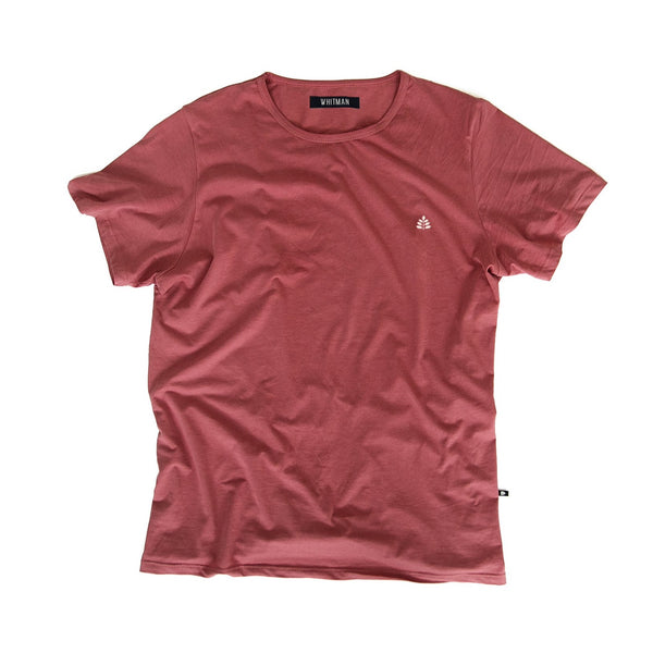 T-Shirt Salmon bordado