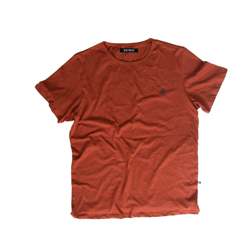 T-Shirt Terracota bordado