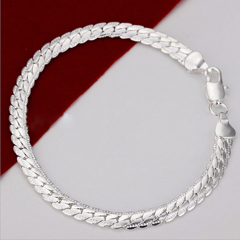 Stainless Steel Chained Bracelet