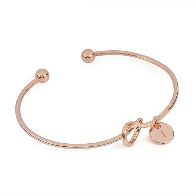 European Knotted Commitment Bangle