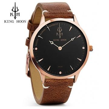 BROWN ROSE LEATHER
