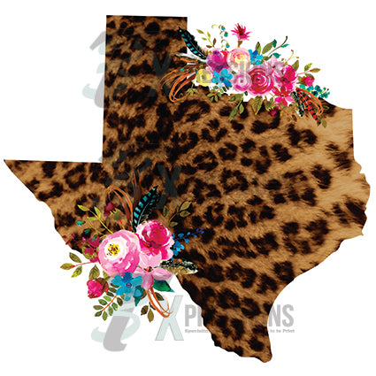 Leopard floral Texas - bling3t