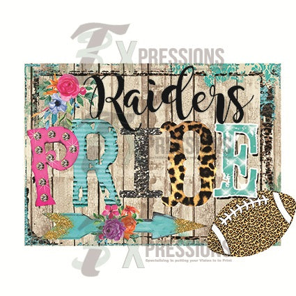 Personalized Leopard football pride - bling3t