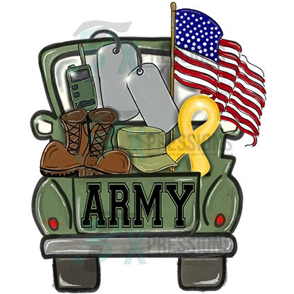 Army Truck - Bling3t