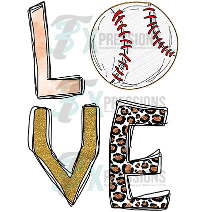 Love Baseball - bling3t