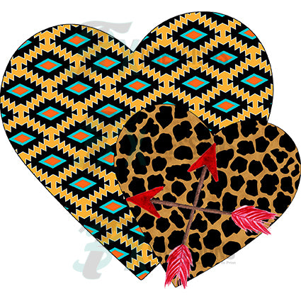 Tribal Hearts - bling3t
