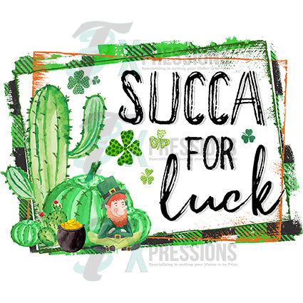 Succa for Luck - bling3t