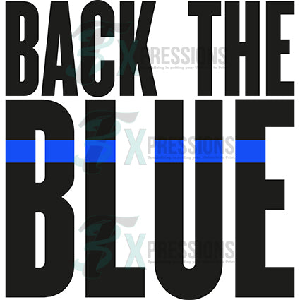 Back the Blue, Police - bling3t