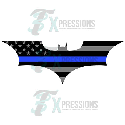 Batman Blue Line, Police - bling3t