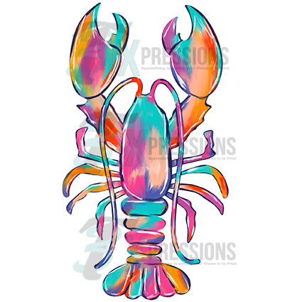 Water Color Lobster - bling3t