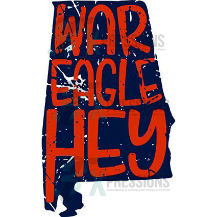 Distressed War Eagle - bling3t
