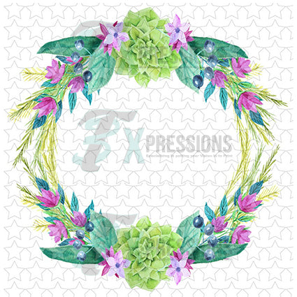 floral wreath - bling3t