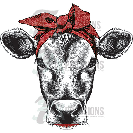 Cow-Burgundy - bling3t