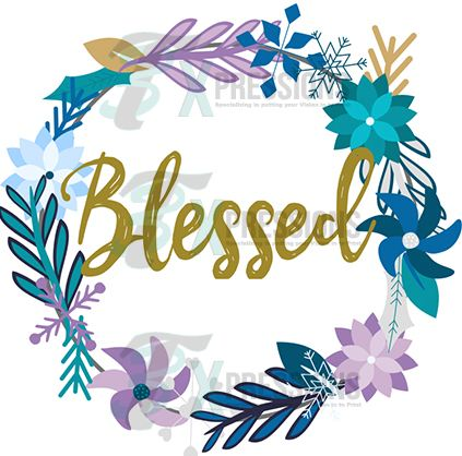 Blessed wreath - bling3t