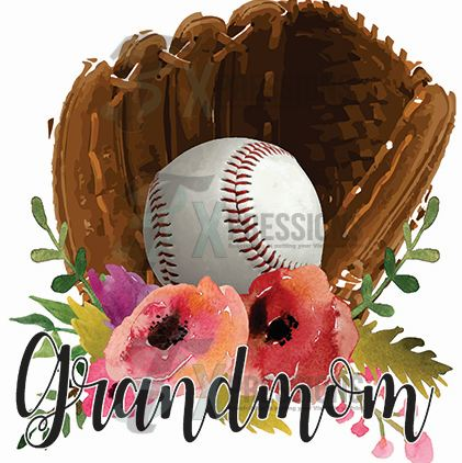 Baseball Grandmom - bling3t