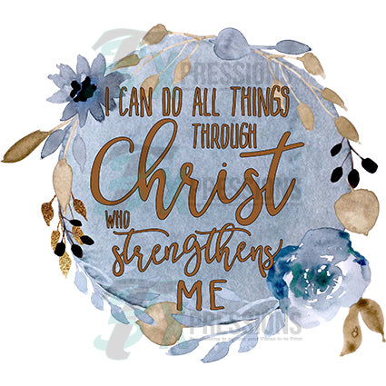 Christ who gives me strength - bling3t