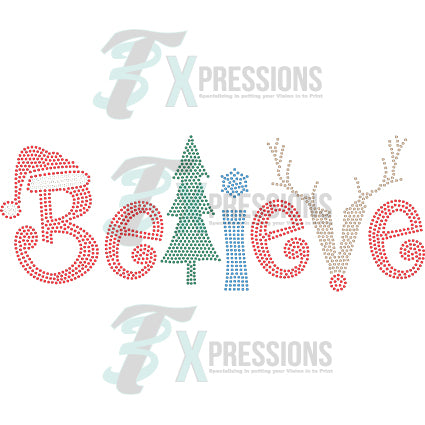 BELIEVE XMAS - bling3t