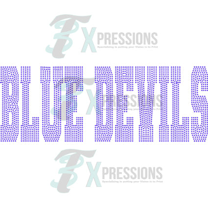 BLUE DEVILS - bling3t