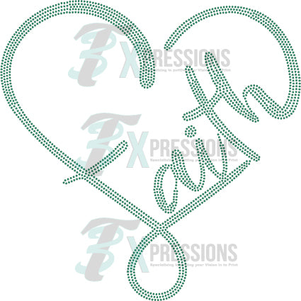 Faith Heart - bling3t
