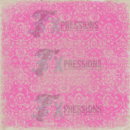 Pink Stamped Paper Backdrop