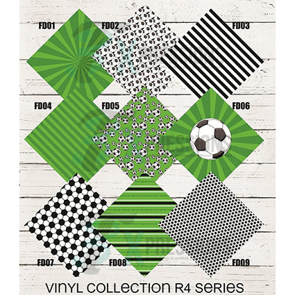 Soccer Patterned Vinyl - bling3t