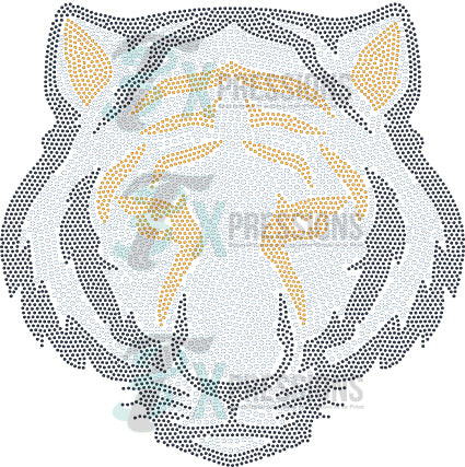 TIGER MASCOT FACE - bling3t