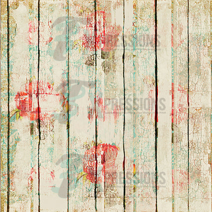 Paint chip Distressed Wood Backdrop