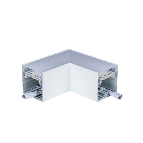 HCP-603000-L - White 12w L-Shape Proline Connector