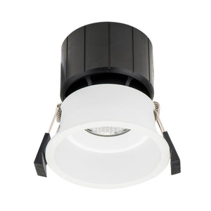 HCP-8531204- White Fixed Deep 12w TRI Colour Recessed LED Downlight