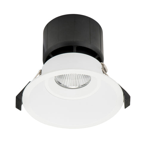 HCP-8631204- White Fixed Deep 12w TRI Colour Recessed LED Downlight