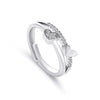 Alessandra Large Ultra Shine Cubic Zirconia Crystal Prong Fashion Solitaire Ring