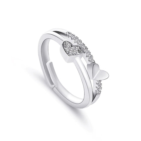 Clara Crystal Pave Band Fashion Ring