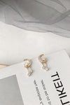 Cute Small Star Moon Gold Dangle Earring Studs Fashion Jewelry for Women - www.Jewolite.com