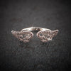 Arabella Cute Unique Crystal Angel Wing Adjustable Ring