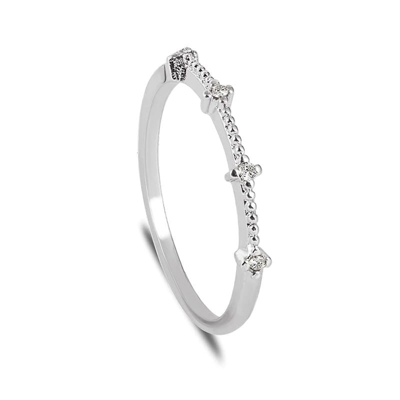 Simple Dainty Minimalist Graduation Wedding Promise Ring Fashion Jewelry for Teen Girls - www.Jewolite.com #rings