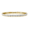 Europa Celestial Triple Crystal Star Gold Chain Bracelet