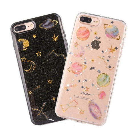 Aurora Cute Opal Shell Holographic Hard IPhone Case
