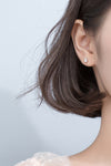Cute Simple Dainty Planet Earring Stud Fashion Jewelry for Women - www.Jewolite.com